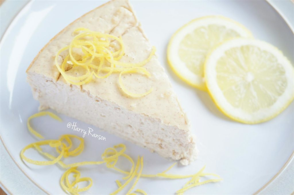 Lemon Protein Cheesecake