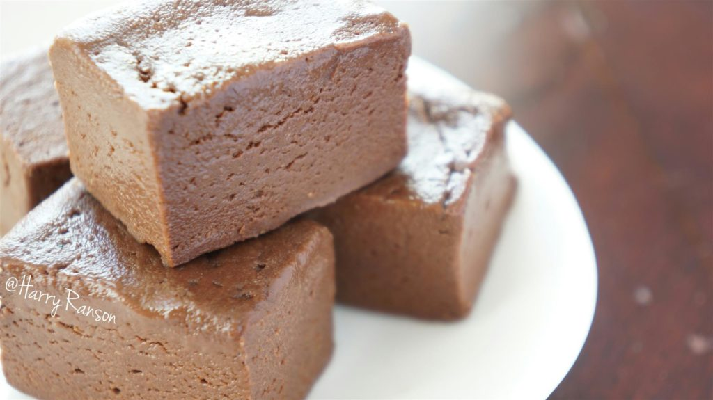 Nutella Protein Fudge