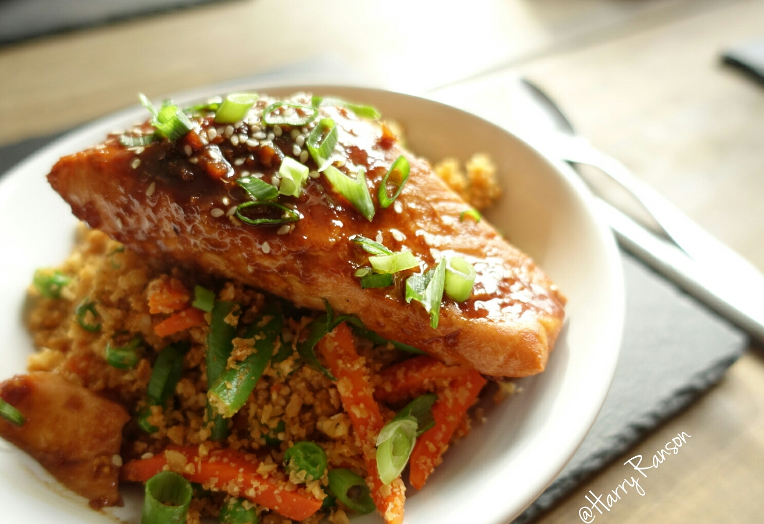 Sweet n Spicy Salmon