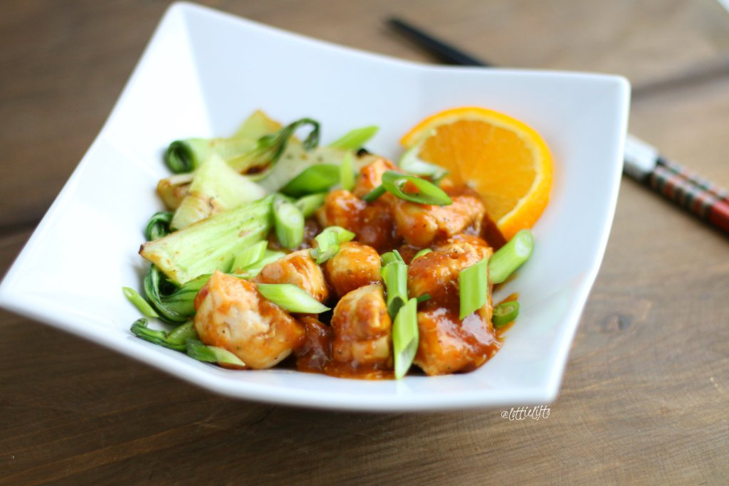 Chinese Orange Chicken A Taste Of Fitness
