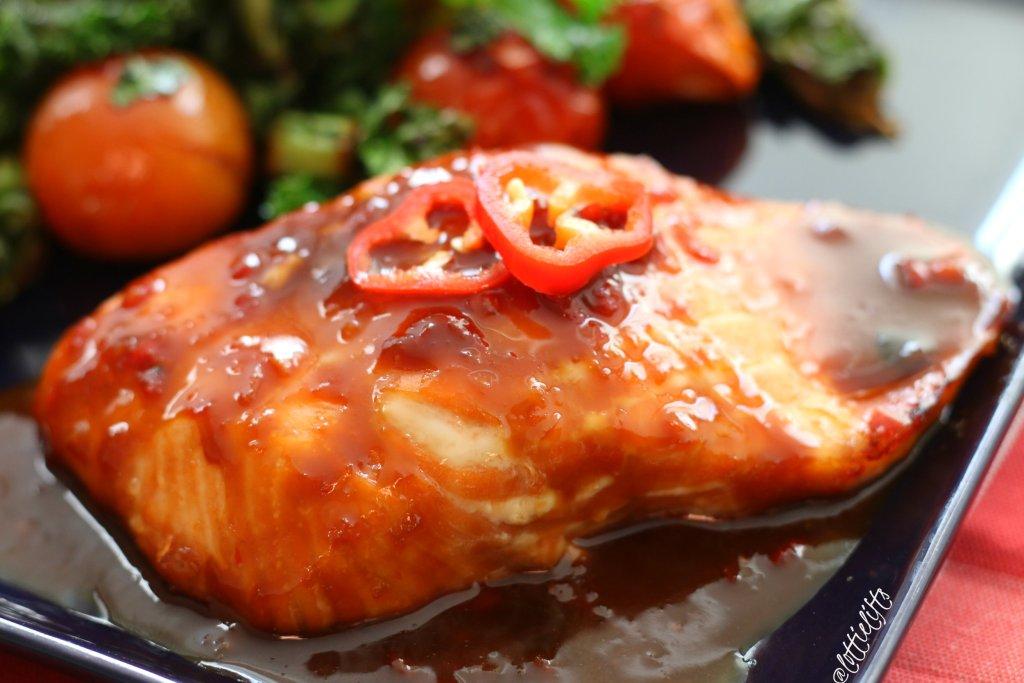 Honey & Soy Glazed Salmon {Single-Serve}
