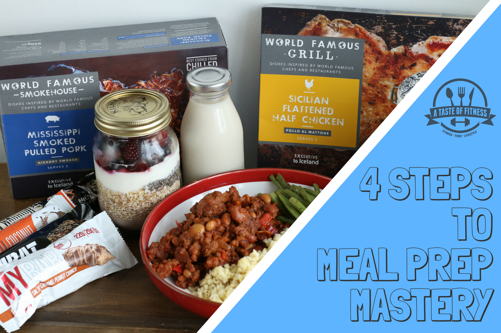 4 Steps to Meal Prep Mastery