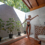 "Reethi Beach Standard Villa ""Open"" Bathroom"