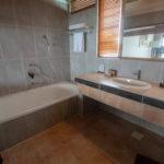 Reethi Beach Water Villa Window into Bath/Sink