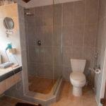 Reethi Beach Water Villa Shower/Toilet