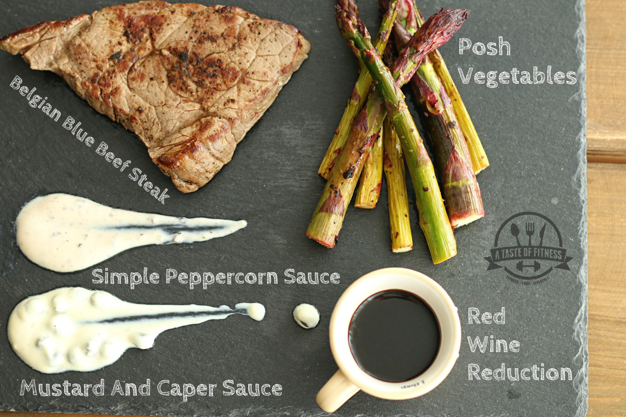 3 Simple Low Calorie Steak Sauces