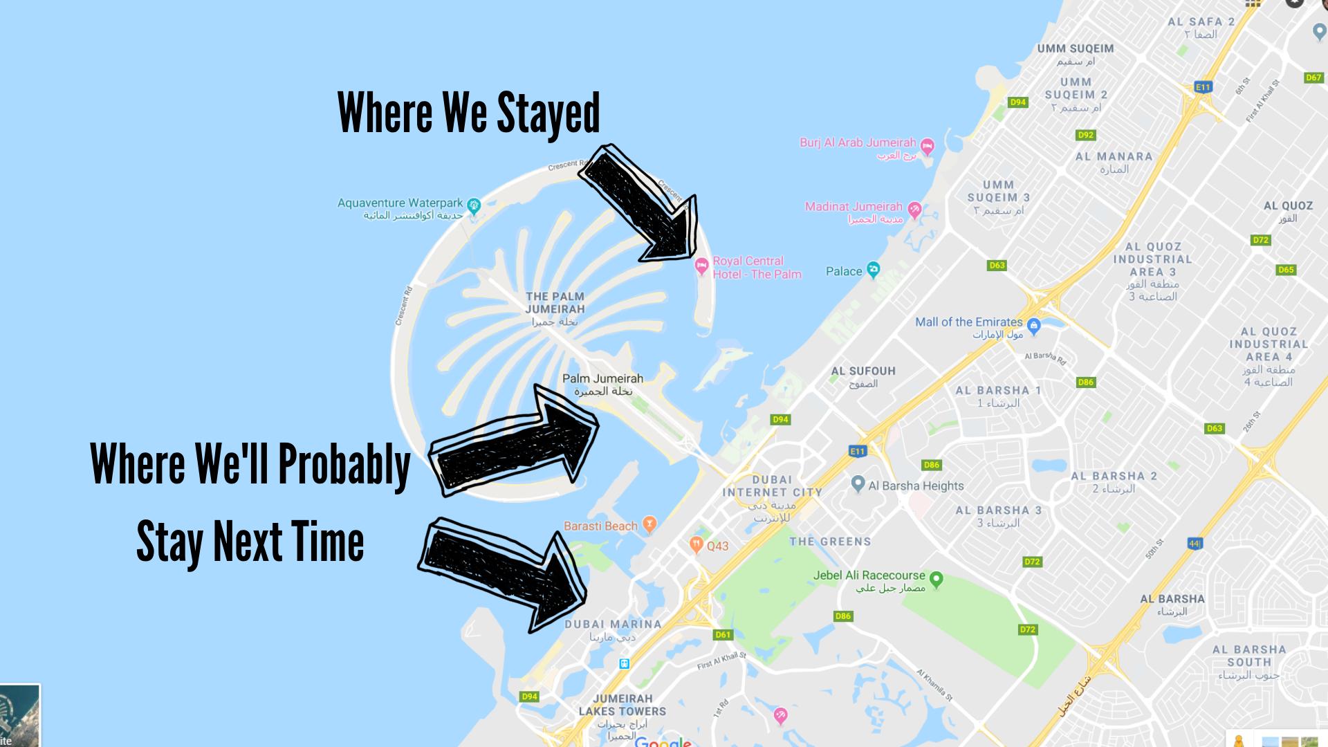Dubai Travel Guide Where To Stay