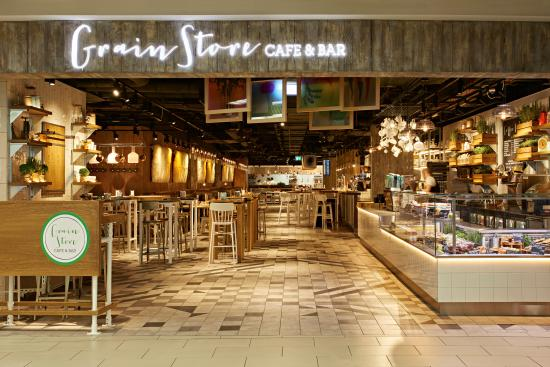 Grain Store Priority Pass Restaurant at Gatwick South Terminal